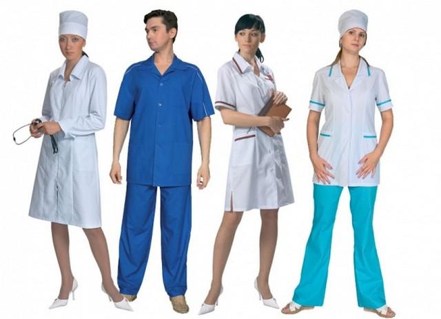 Форма одежды для врачей